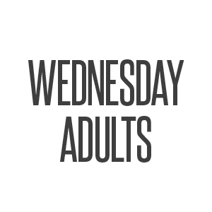 wednesday adults