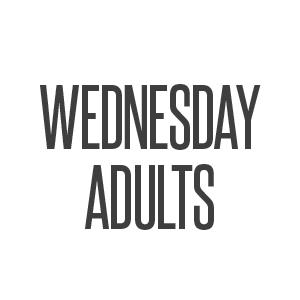wednesday adults